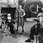 Paul Cavanagh, Lowell Gilmore, Diana Lynn, and George Macready in Rogues of Sherwood Forest (1950)
