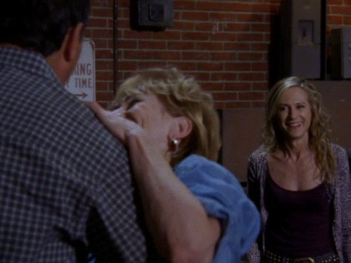 Holly Hunter, Kathy Baker, and Chris Mulkey in Saving Grace (2007)