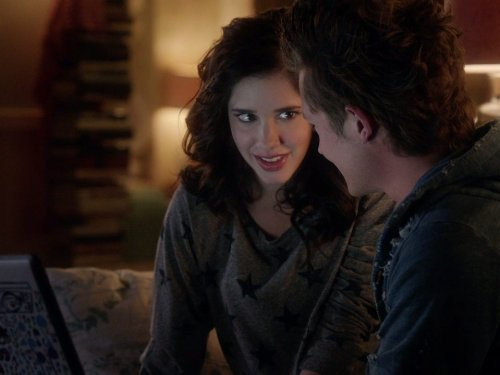 Erica Dasher and Nick Roux in Jane by Design (2012)