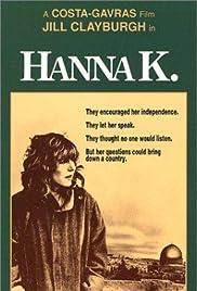 Hanna K.(1983) Poster - Movie Forum, Cast, Reviews