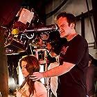 Quentin Tarantino and Vanessa Ferlito in Grindhouse (2007)