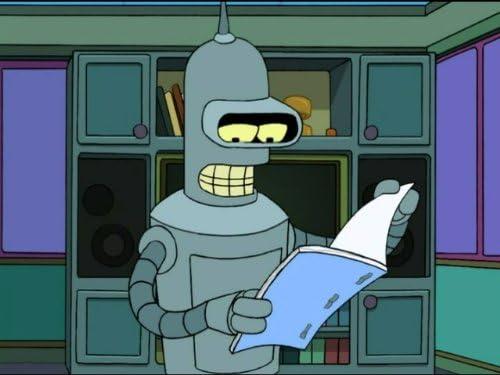 Futurama 5×15 – Bender no debería estar permitido en la televisión