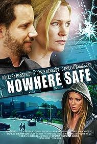 Natasha Henstridge, Jamie Kennedy, and Danielle C. Ryan in Nowhere Safe (2014)