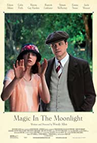 Colin Firth and Emma Stone in Magic in the Moonlight (2014)