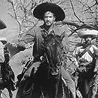 Valentin de Vargas, Larry Duran, and Eli Wallach in The Magnificent Seven (1960)