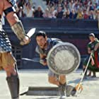 Russell Crowe and Sven-Ole Thorsen in Gladiator (2000)