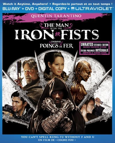 The Man with the Iron Fists 2012 UNRATED BluRay 720p 800MB Dual Audio ( Hindi – English ) ESubs MKV