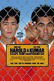 John Cho and Kal Penn in Harold & Kumar Escape from Guantanamo Bay (2008)