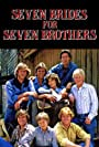 River Phoenix, Richard Dean Anderson, Peter Horton, Drake Hogestyn, Terri Treas, and Roger Wilson in Seven Brides for Seven Brothers (1982)