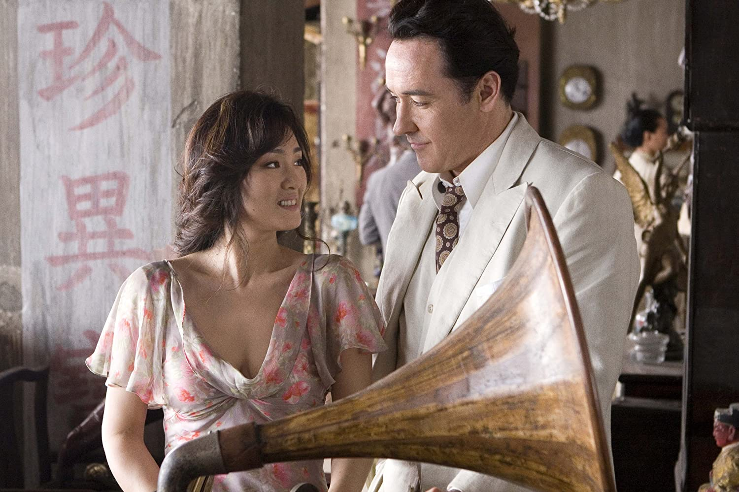 Li Gong and John Cusack in Shanghai (2010)