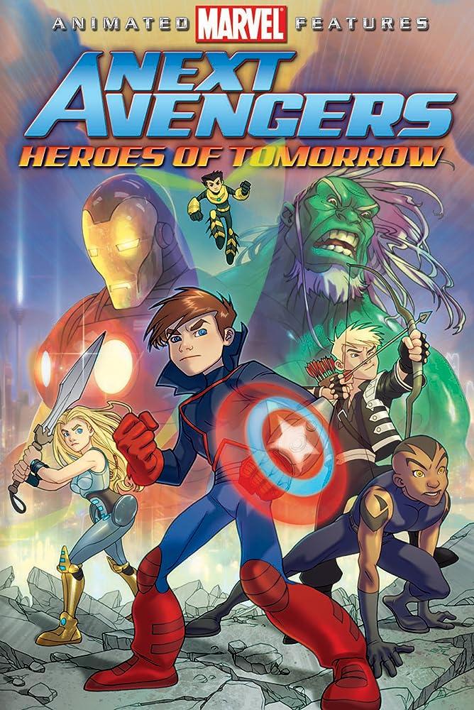 Os Novos Vingadores: Heróis do Amanhã Dublado