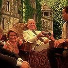 John Gielgud, Ellen Burstyn, David Warner, and Dirk Bogarde in Providence (1977)
