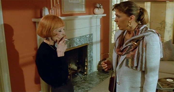 Bette Davis and Colleen Camp in Wicked Stepmother (1989)
