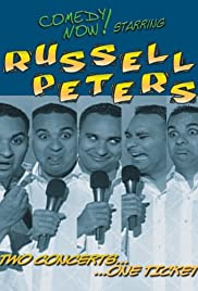 Russell Peters: Two Concerts, One Ticket Poster