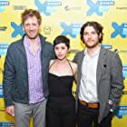 Adam Pally, Charles Hood, and Rosa Salazar at an event for Night Owls (2015)