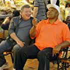 William Shatner and George Foreman in Better Late Than Never (2016)