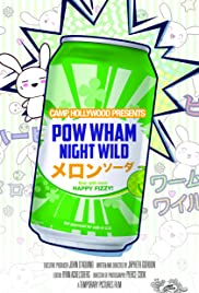Pow Wham Night Wild Poster