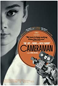 Audrey Hepburn and Jack Cardiff in Cameraman: The Life and Work of Jack Cardiff (2010)