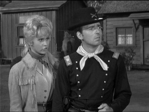 Ken Berry and Melody Patterson in F Troop (1965)