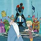 Junius Matthews, Richard Reitherman, Robert Reitherman, Rickie Sorensen, and Karl Swenson in The Sword in the Stone (1963)