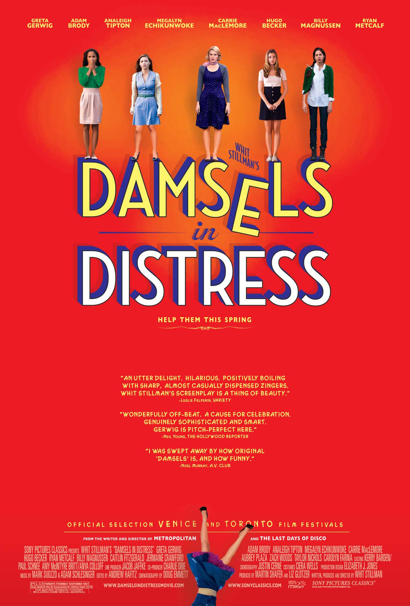 Damsels in trouble
