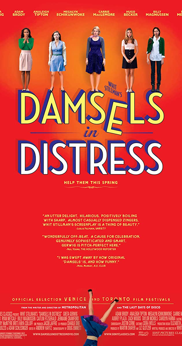 Subtitle of Damsels in Distress