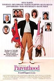 Steve Martin, Keanu Reeves, Martha Plimpton, Tom Hulce, Rick Moranis, Jason Robards, Dianne Wiest, and Mary Steenburgen in Parenthood (1989)