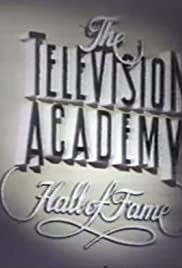 The 1st TV Academy Hall of Fame Poster
