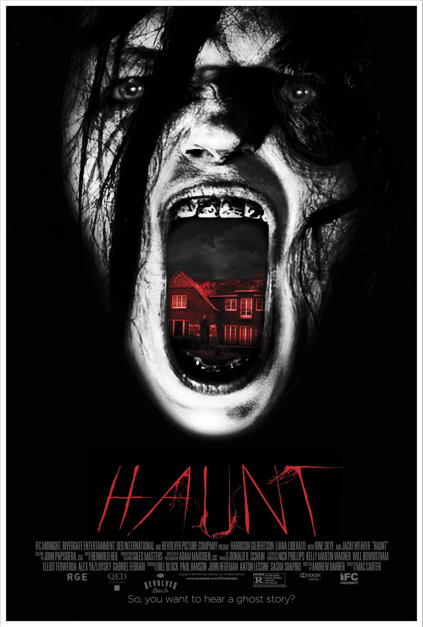 Šmėklų namai (2014) / Haunt