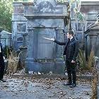 Daniel Gillies and Joseph Morgan in The Originals (2013)