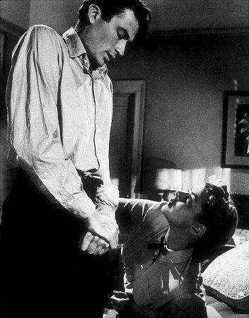 """Spellbound,"" Gregory Peck and Ingrid Bergman. 1945 United Artists"