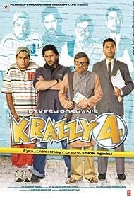 Arshad Warsi, Irrfan Khan, Suresh Menon, and Rajpal Yadav in Krazzy 4 (2008)