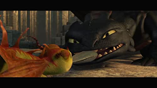 """""""Dragons Aren't Fire Proof"""" from How to Train Your Dragon"""