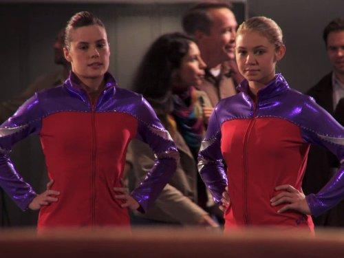 Chelsea Hobbs and Ayla Kell in Make It or Break It (2009)
