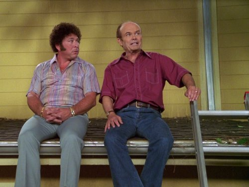 Kurtwood Smith and Don Stark in That '70s Show (1998)