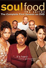 Vanessa Williams, Rockmond Dunbar, Darrin Dewitt Henson, Boris Kodjoe, Nicole Ari Parker, and Malinda Williams in Soul Food (2000)