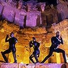 Mark Caso, Ray Park, and Sultan Uddin in Mortal Kombat: Annihilation (1997)