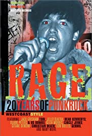 Rage: 20 Years of Punk Rock West Coast Style Poster