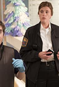 Freddie Highmore and Andrea Ware in The Good Doctor (2017)