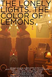 The Lonely Lights. The Color of Lemons. Poster
