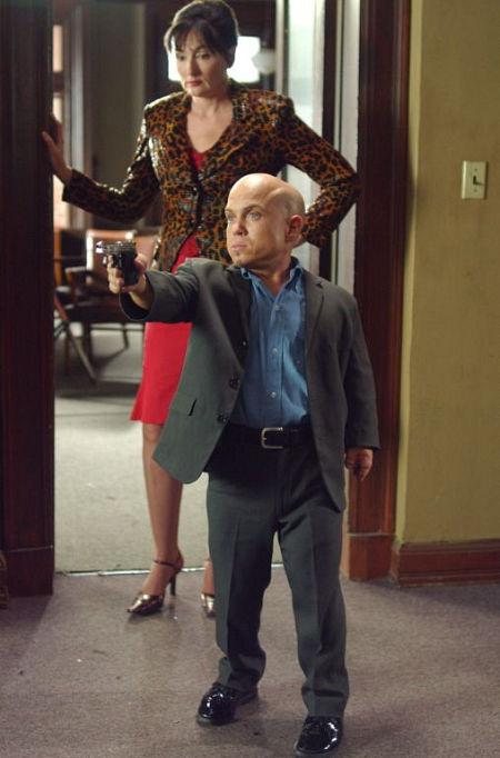 "Martin Klebba starring in ""Knee High P.I."""