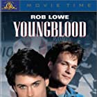 Rob Lowe and Patrick Swayze in Youngblood (1986)