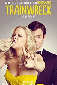 Bill Hader and Amy Schumer in Trainwreck (2015)