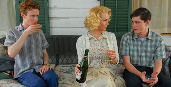 Renée Zellweger, Logan Lerman, and Mark Rendall in My One and Only (2009)