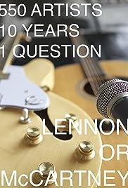 Lennon or McCartney Poster