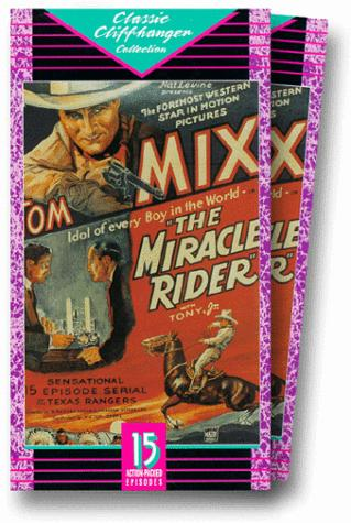 Tom Mix and Tony Jr. the Horse in The Miracle Rider (1935)