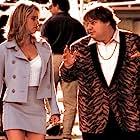 Chris Farley and Nicollette Sheridan in Beverly Hills Ninja (1997)