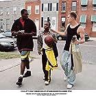 Channing Tatum, Damaine Radcliff, and De'Shawn Washington in Step Up (2006)