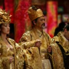 Gong Li, Chow Yun-Fat, and Ye Liu in Man cheng jin dai huang jin jia (2006)