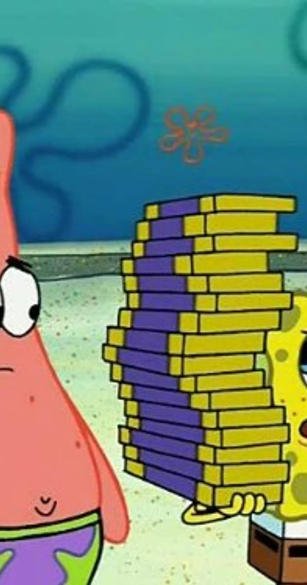Spongebob Squarepants Chocolate With Nutsmermaidman And